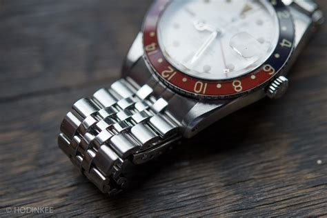 HODINKEE Showcases the Albino Rolex GMT-Master Reference 6542