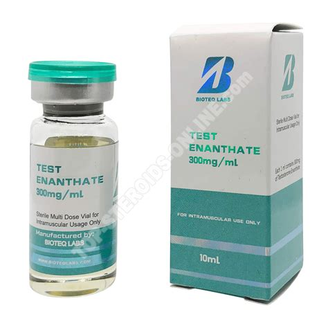 Enanthate 300mg Test - BioTeq Labs • Top Steroide online