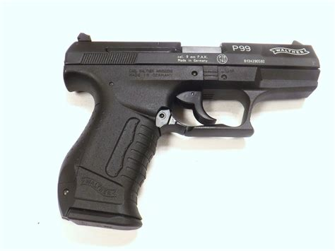 Walther P99 9mm PAK - Western Guns & More
