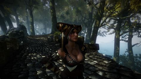 Quick Shots: The Witcher 2 features pretty ladies in