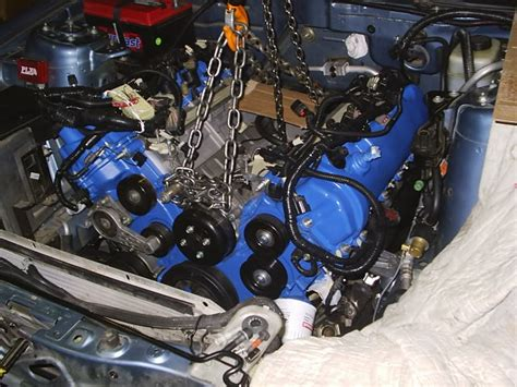 How to: V6 to V8 Swap - Ford Mustang Forum