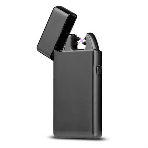 Rechargeable Electric LIGHTER Double ARC PULSE Flameless