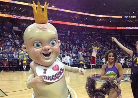 New Orleans Pelicans Are Cornering the Creepy Mascot