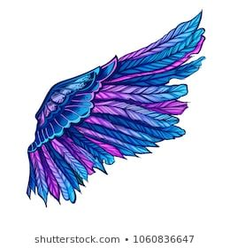 Colorful Wings Images, Stock Photos & Vectors   Shutterstock