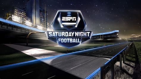 ESPN College Football Motion Graphics and Broadcast Design