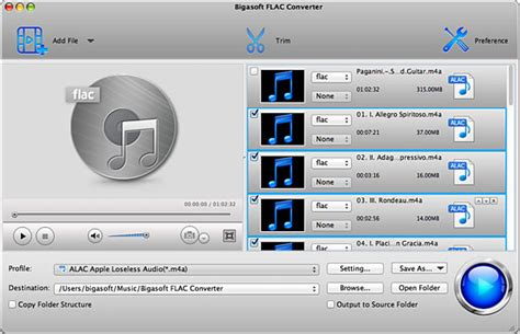 FLAC Splitter - How to split FLAC files based on CUE on
