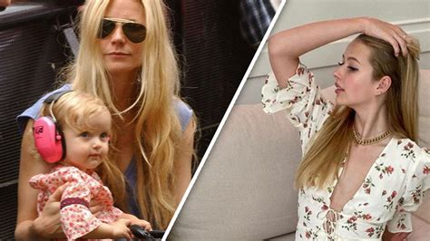 Gwyneth Paltrow Shares Rare Photos Of Daughter Apple On