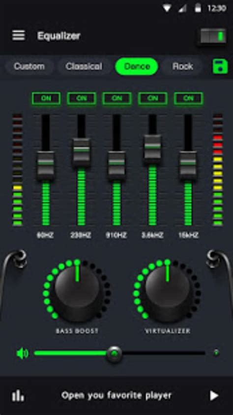 Music Equalizer Bass Booster Volume Booster for Android