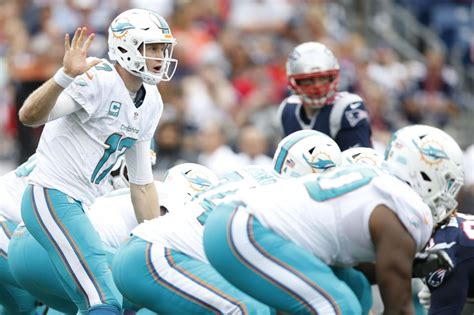 Miami Dolphins Ryan Tannehill is a tale of two halves