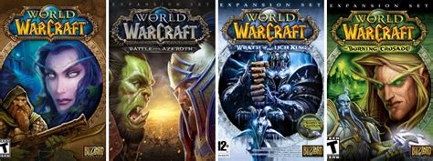 World of Warcraft (WOW) Expansion List in Order of Release