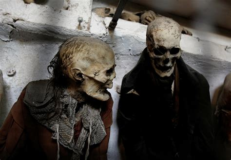 A Monster a Day, 8,000 Mummies of Polermo, Itlay