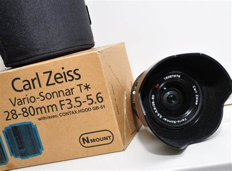 The Carl Zeiss Vario-Sonnar T* 28-80 mm f/ 3