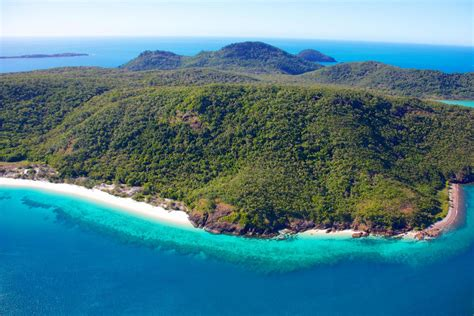 Whitsunday Island fringing reef Great Barrier Reef QLD