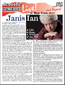 Janis Ian A Life in Song, A Triumph of the Will by Richard