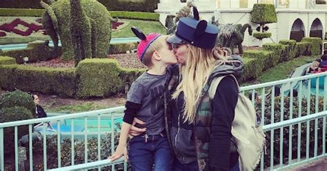 Hilary Duff defends kissing her son on lips after critics