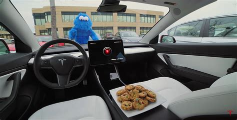 Tesla showcases Sentry Mode in hilarious Cookie Monster sketch