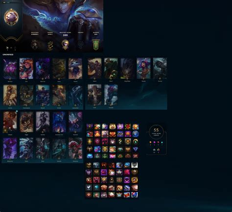 League of Legends Account for Sale: Level 122 | Unranked