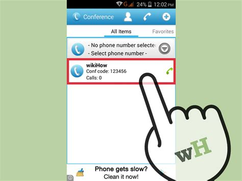 How to Conference Call on an Android: 11 Steps (with Pictures)
