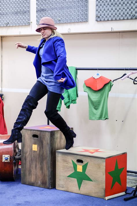Photo Flash: Inside Rehearsals for PINOCCHIO at