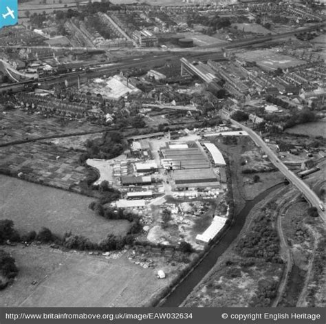 Heanor Local History - Heanor from Above
