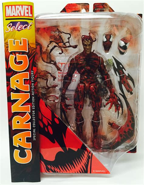 Marvel Select Carnage Reissue Up for PO! Review & Photos