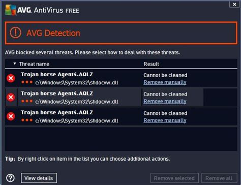 AVG Possibly Hit By False Trojan Horse Agent4