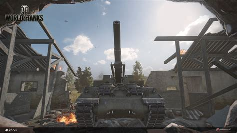 World Of Tanks For PS4 Gets A New Batch Of 1080p