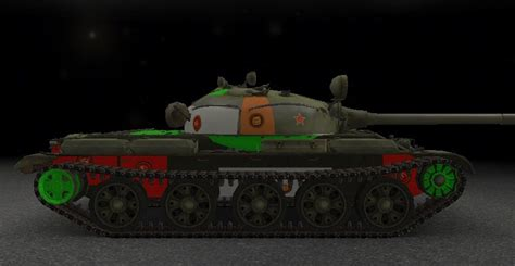 WOTINFO - Weak points and vehicle data of T-62A