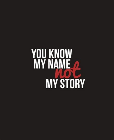 My Name Quotes