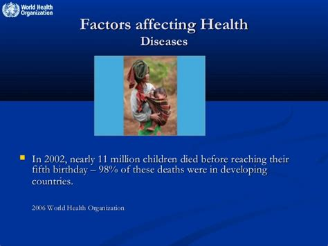 Nicaragua identifying factors that affect childrens health