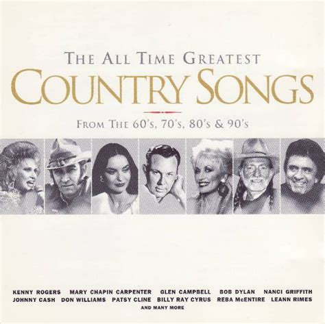 The All Time Greatest Country Songs From The 60's, 70's