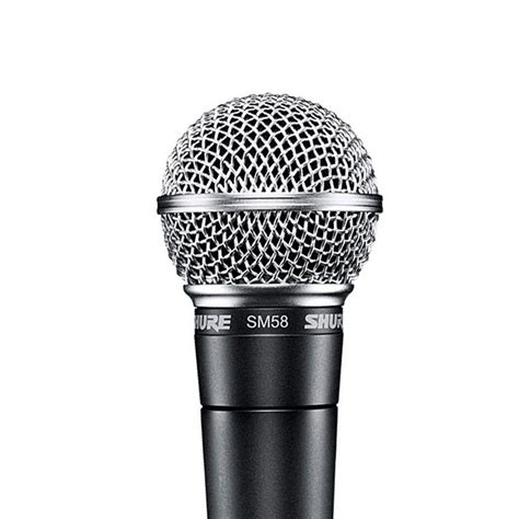 Shure SM58 LC Vocal Microphone Cardioid, Dynamic