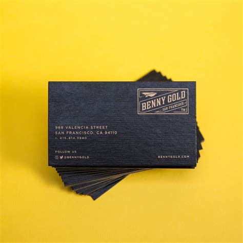 Benny Gold Business Cards • Mama's Sauce