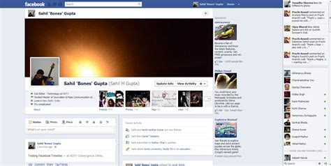 The new look Facebook (pictures)   NDTV Gadgets360