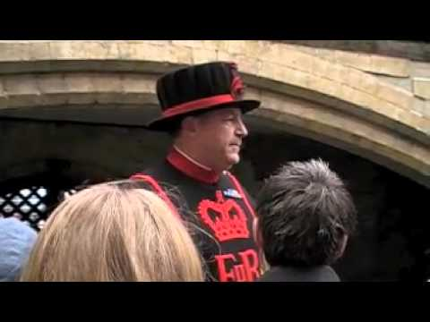 Yeoman warden or beefeater inside the Tower of London City