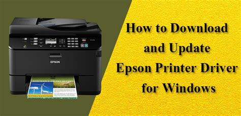 How to Download and Update Epson Printer Driver for