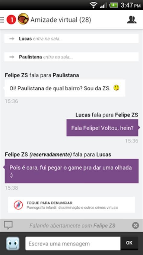 Bate-papo UOL para Android - Download
