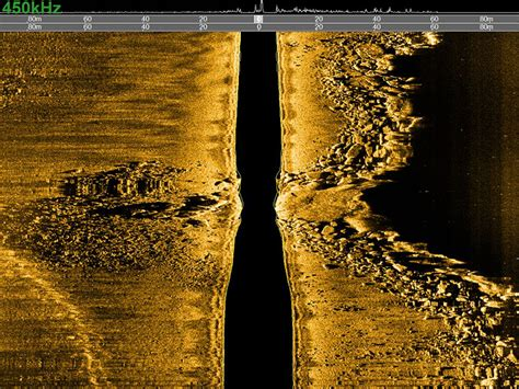 Single Frequency Side Scan Sonar for Hydrographic
