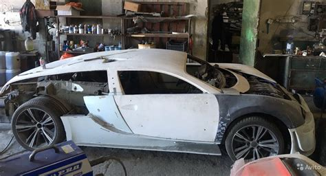 Purchase This Unfinished Bugatti Veyron Replica For $4,000