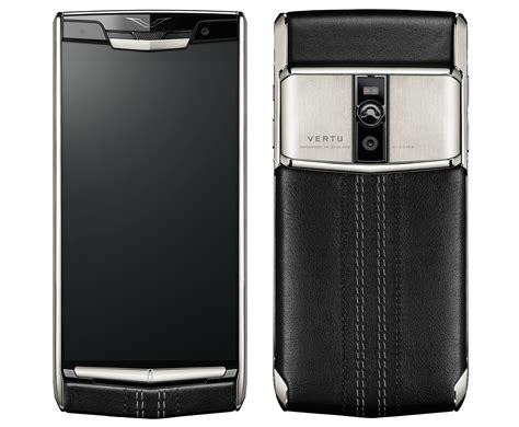 New Vertu Signature Touch is a high-end Android phone that