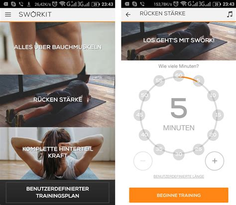 Bauch Sworkit - Androidmag