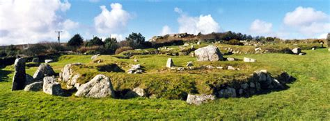 Carn Euny Village Ancient Village or Settlement : The