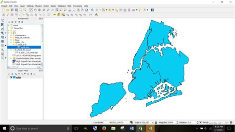 coordinate system - Correct Incorrect Projection of